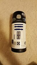 New Thermos Funtainer 12 Ounce Bottle, R2D2 , white and black