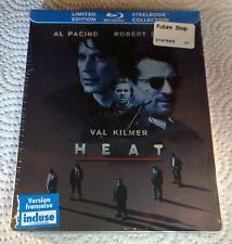 Heat (2009, Canada, Region Free) Steelbook NEW