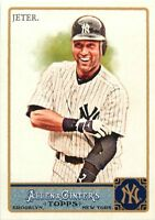 2011 TOPPS ALLEN & GINTER BASEBALL CARD - PICK / CHOOSE YOUR CARDS