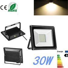 30W SMD LED Flood Light Outdoor Garden Security Light Lamp 220V Warm White