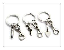 3 Partners In Crime Keyrings, Best Friends Keychain Set, Friendship Jewelry, Han