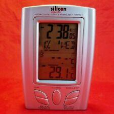 Silicon Scientific . Atomic Digital Clock . Rf Wireless . Thermo . Battery Alarm