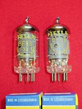 Matched pair EF86 TESLA NOS NEU Röhre Tube NEW Valve Valvula Paar Tutto 6BK8