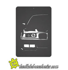 BMW E36 Silhouette Metal Wall Art Hanging Home Decor 325i 325is M3