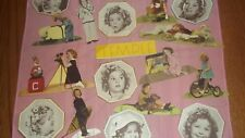 Vintage Shirley Temple Paper Cut & Fold Cut-Outs of Beautiful Scenes!