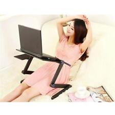 Laptop standing desk for bed and sofa, folding table with mouse pad PC portable