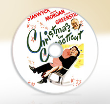 Christmas In Connecticut (1945) DVD Classic Comedy Movie / Film Barbara Stanwyck