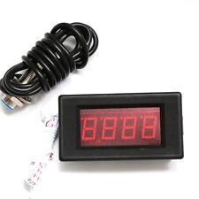 Hall Proximity Switch Sensor NPN 4 Digital Red LED Tachometer RPM Speed Meter