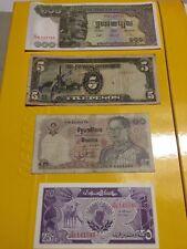 Banconote - Asiatiche Cambogia -Thailandia - Filippine 10-100  FDS