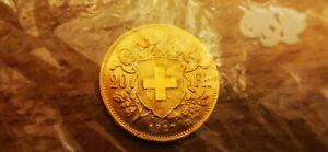 Pièce 20 Francs Suisse Vreneli