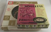 Vintage Roulette Wheels By Lowe & Pleasantine Jr. Crafted Game Classics 1960's