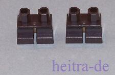 LEGO - 2 x Beine / Hose kurz schwarz / Hosen / Black Legs Short / 41879 NEUWARE