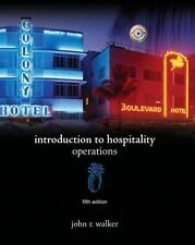 Introduction to Hospitality (5th Edition) by Walker, John R., Good Book