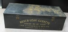"""Fitzgerald Head Gasket Auto Part Store Advertising Sign Display Case Box 32"""""""