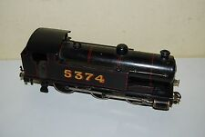 LOCOMOTIVE EN O BASSETT LOWKE BRITISH MADE N° 5374 ELECTRIQUE TRES BON ETAT
