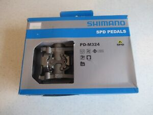 Shimano clipless Spd Pedals PD-M324