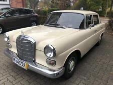 Mercedes w110 200D H-Kennzeichen restauriert