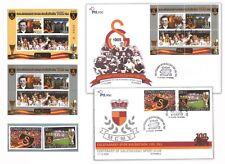 TURKEY 2005 CENTENARY OF GALATASARAY FOOTBALL/SPORT CLUB ISTANBUL STAMPS FDC MUH