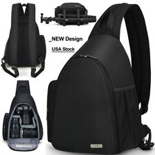 Sling Camera Bag Backpack Shoulder Bag For Canon Nikon Sony Pentax Olympus SLR
