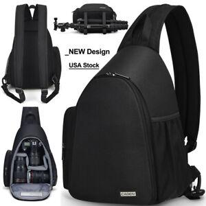 Sling Camera Bag Backpack Shoulder Bag For Canon Nikon Sony Pentax Olympus SLR