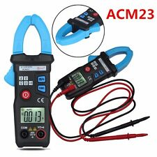 600V Digital Pocket Clamp Meter Multimeter Amps AC DC Current Volt Ohm Tester6KΩ