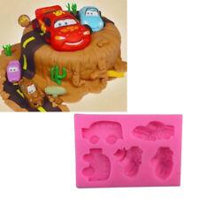 Car Shape Silicone Fondant Mold Cake Decorating Chocolate Baking Mould Tools