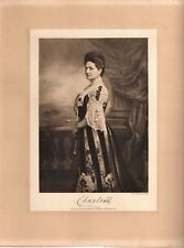 "Vintage Gerhard Stalling Oldenburg Germany Charlotte Engraving Print 11"" x 8.75"""