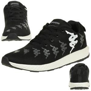 Kappa Unisex Sneaker BANJO schwarz / weiss