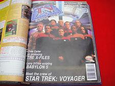 TV ZONE #62 ~STAR TREK VOYAGER ~ DR WHO ~ X-FILES ~ BABYLON 5