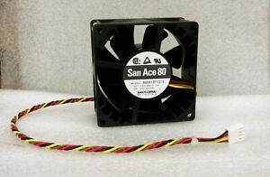 Sanyo Denki 80mm x 38mm High Airflow PWM Fan 90 CFM 4 Pin Like FFB0812EHE