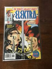 Elektra Issue 13 Comic Book December 1997 Marvel Comics Free bag/board