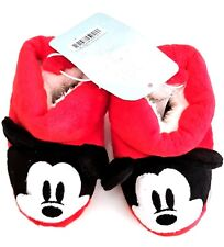 Disney Baby by Disney Store - MICKEY MOUSE Plush Slippers - NEW with Tags