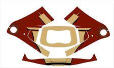 3M Speedglas 9100 Fx Auto Sw Jig Schweiß Helm Umwickeln Abziehbild Iron Man