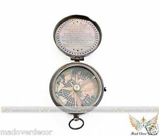 NAUTICAL VINTAGE SHIP MARITIME ANTIQUE STYLE LONELY HEARTS LONDON POEM COMPASS