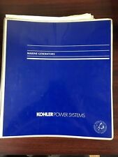 Kohler Power Systems , Marine Generators Product and Accessories Sales Catalog