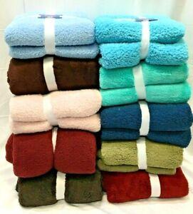 NEW Luxury Plush Fleece Blanket Soft Queen Warm Throw FREE Shipping