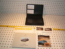 Mercedes W220 S430/S500 2000 US owner's Manuals 1 set of 4 & Leather OEM 1 Case
