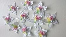 Beautiful White Flower Embellishment, Unusual, Unique, Wedding, Craft