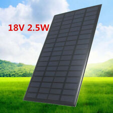 18V 2.5W SOLAR PANEL CELL POLYCRYSTALLINE SILICONE POWER CHARGER DIY MINI TESTED