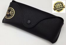 Ray Ban Genuine Eye Glasses/Sunglasses BLACK Cover/CASE/Pouch & Cleaning Cloth