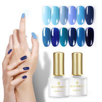 BORN PRETTY 6ml Jazz Blue Farben Nagellack Soak Off UV Gel Led Nail Polish DIY