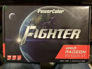 🔥 BRAND NEW • Sealed • AMD Radeon 6600xt Powercolor Fighter • SHIPS ASAP 🚚💨