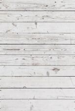 5x7FT Retro Gray White Wood Plank Photography Backgrounds Vinyl Photo Backdrops