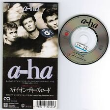 "A-HA Stay On These Roads /Soft Rains On JAPAN 3"" CD 10SW-44 Unsnapped ex-Reantal"