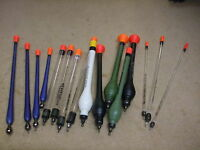 MIDDY TACKLE LOADED WAGGLERS PELLET ,SPLASH ,CLEAR TOPPERS,