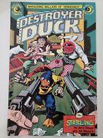 "DESTROYER DUCK #3 (1983) ECLIPSE COMICS STEVE GERBER! JACK ""KING"" KIRBY! ALCALA!"