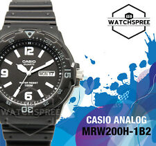 Casio Diver Look Analog Watch MRW200H-1B2