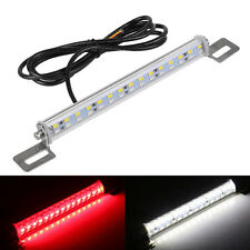 1 Universal Red White LED Lamp License Plate Backup Brake Rear Reverse Fog Light