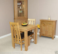 Oak Up to 4 Seats 3 Piece Table & Chair Sets