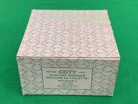 Vintage NOS 5.25 OZ Coty Muguet Des Bois Dusting Powder Poudre De Toilette 1238